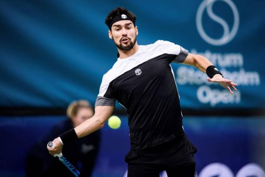 Fabio Fognini reveals he may undergo surgery
