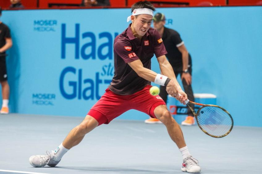 Nishikori targets being the eighth man in Vienna