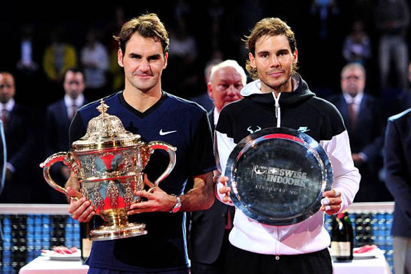 Federer three wins from 100th title