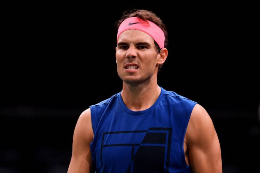 Nadal pulls out, seeded players march on at Paris Masters