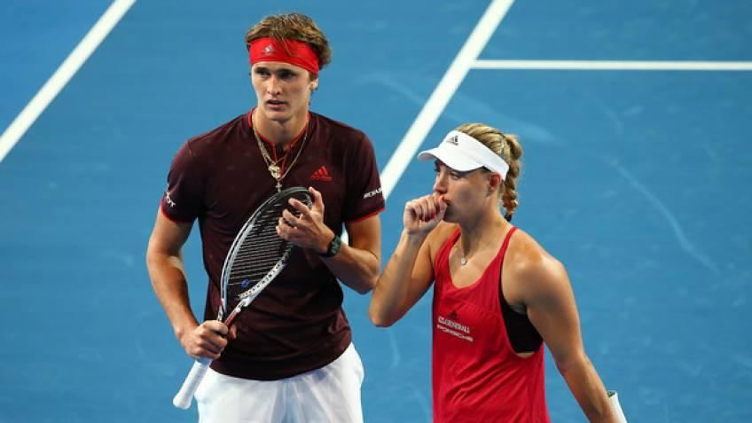 German tennis on a high since Steffi Graf's time