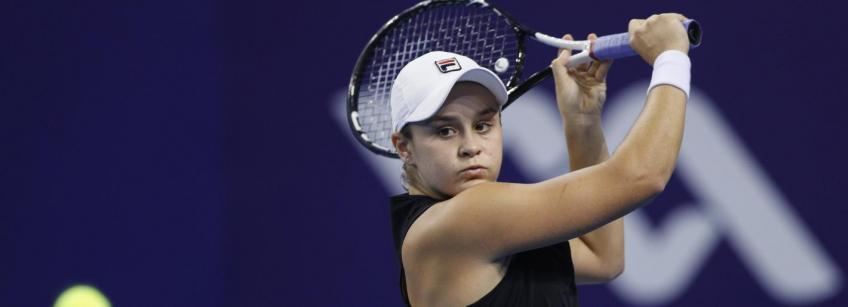 WTA Zhuhai: Ashleigh Barty beats Qiang Wang to seal the title