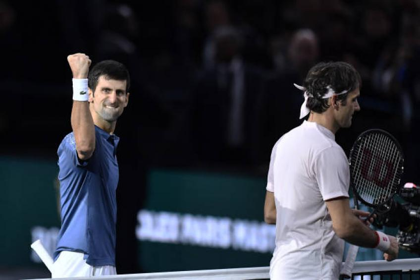 Novak Djokovic 'One of the best matches ever between Roger Federer and me'