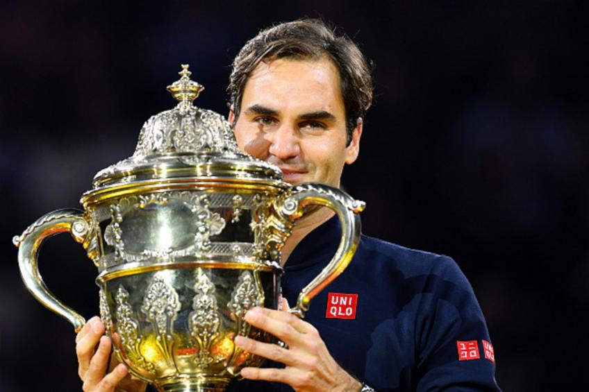 Roger Federer: 'When you win titles, you party like a rock star'