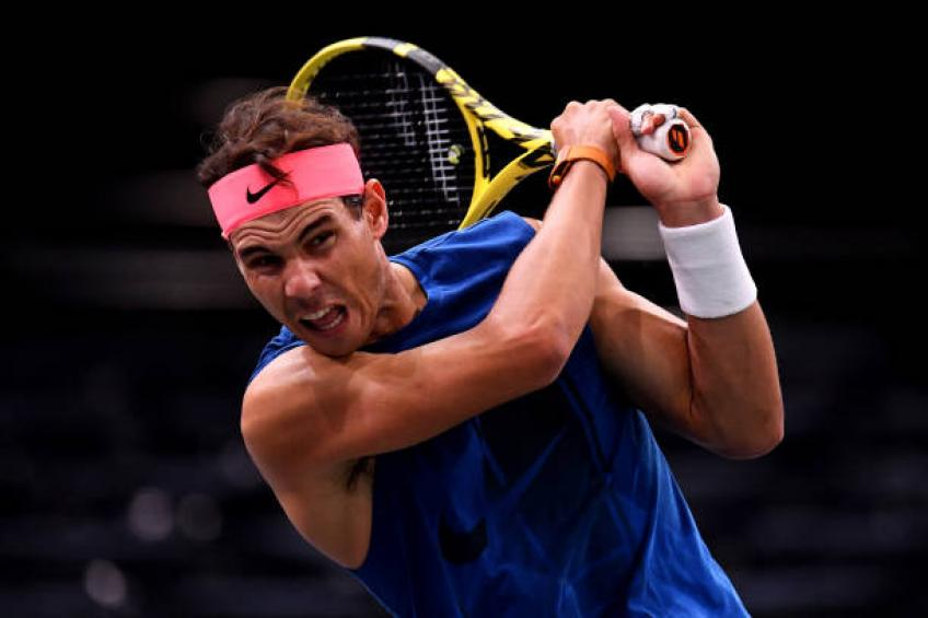 I have abdominal pain every time I serve says Rafael Nadal