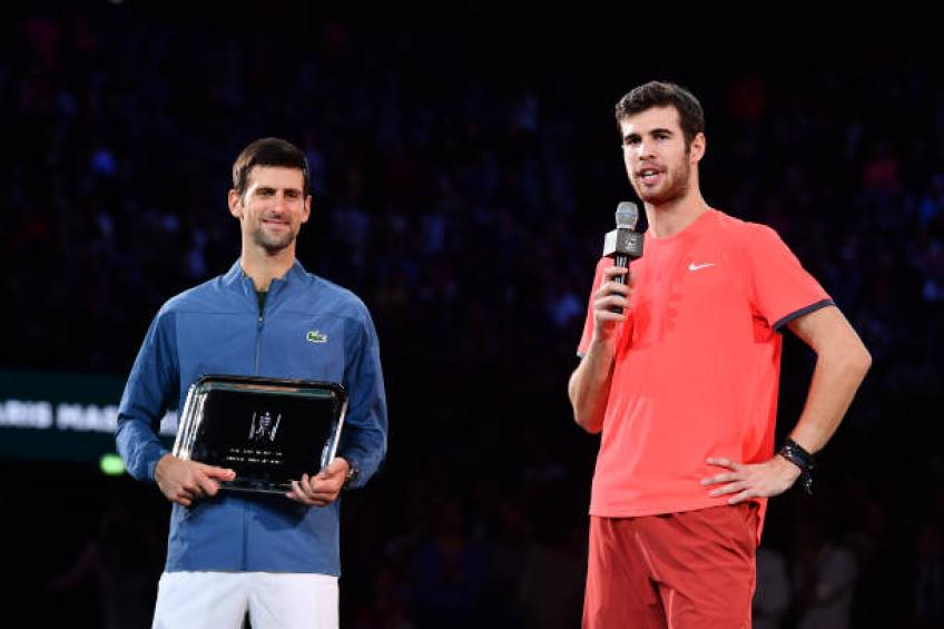 Djokovic back at No. 1; replaces Nadal, whose season is over