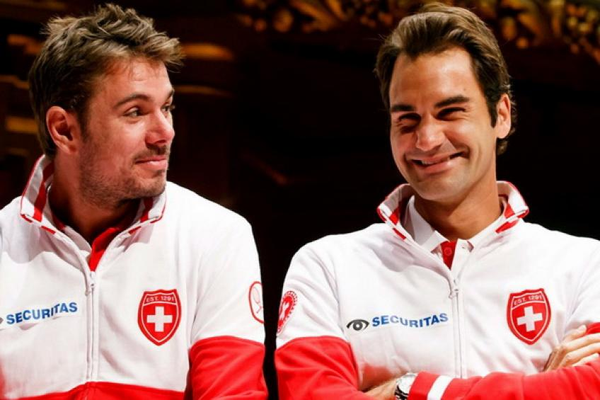 Switzerland hosts Russia in Biel without Roger Federer and Stan Wawrinka