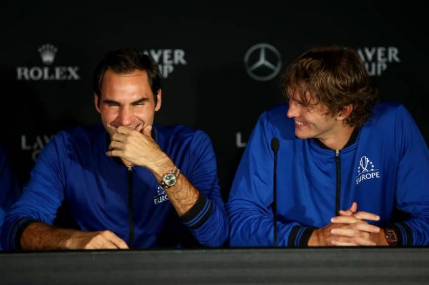 It's not easy to breakthrough with Roger Federer and Nadal, says Zverev