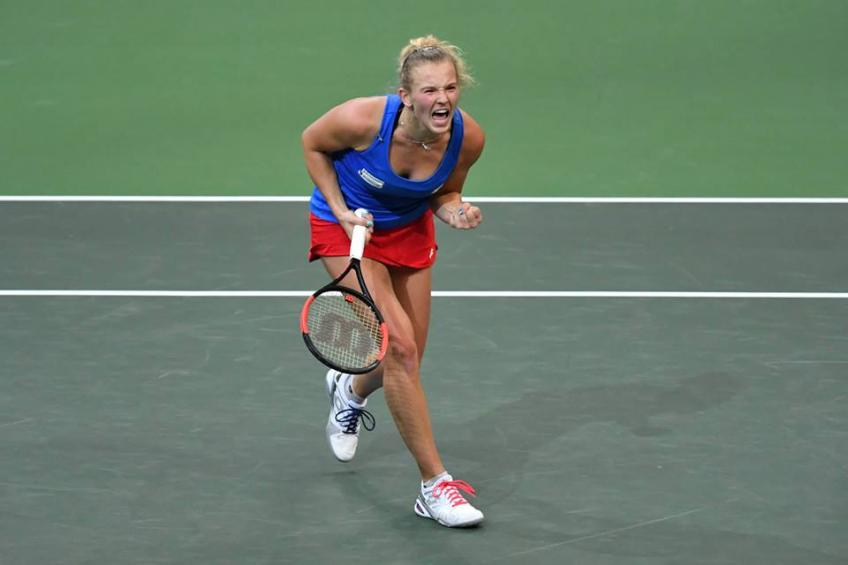 Czech Republic beats U.S. 3-0 in Fed Cup final