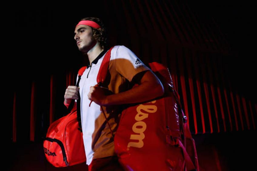 Apostolos Tsitsipas: 'In free time, Kyrgios plays basketball. Stefanos...'