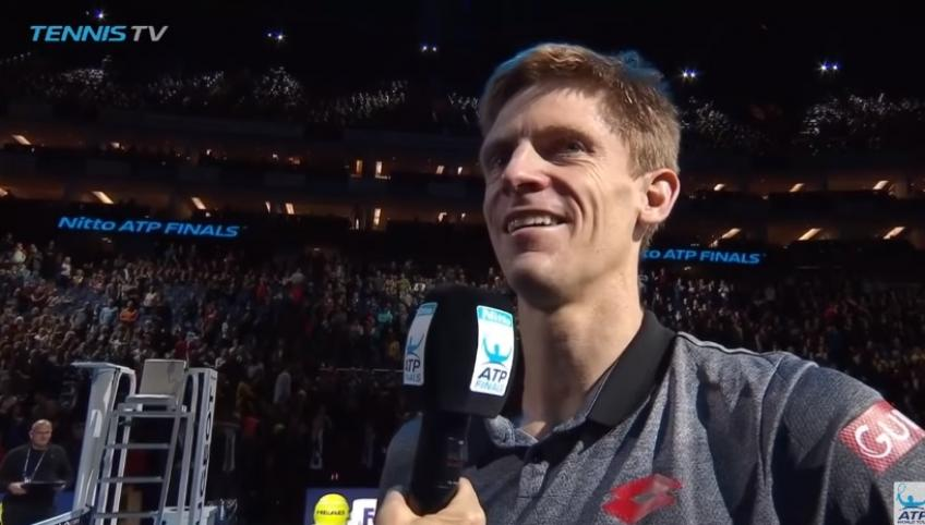 Emotional Kevin Anderson sings Happy Birthday to wife Kelsey