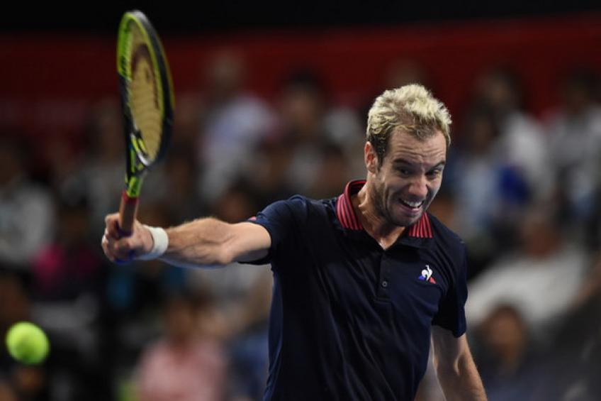Gasquet out of Davis Cup final with injury