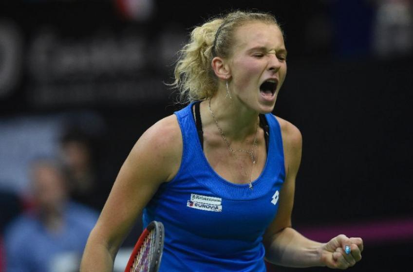 Katerina Siniakova: My first Fed Cup experience was really good