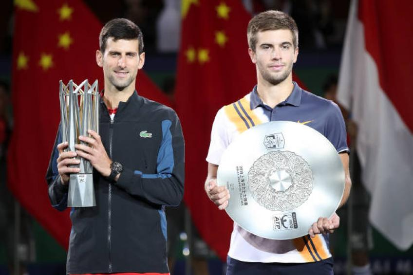 Borna Coric: 'I did not expect such a fast comeback from Novak Djokovic'