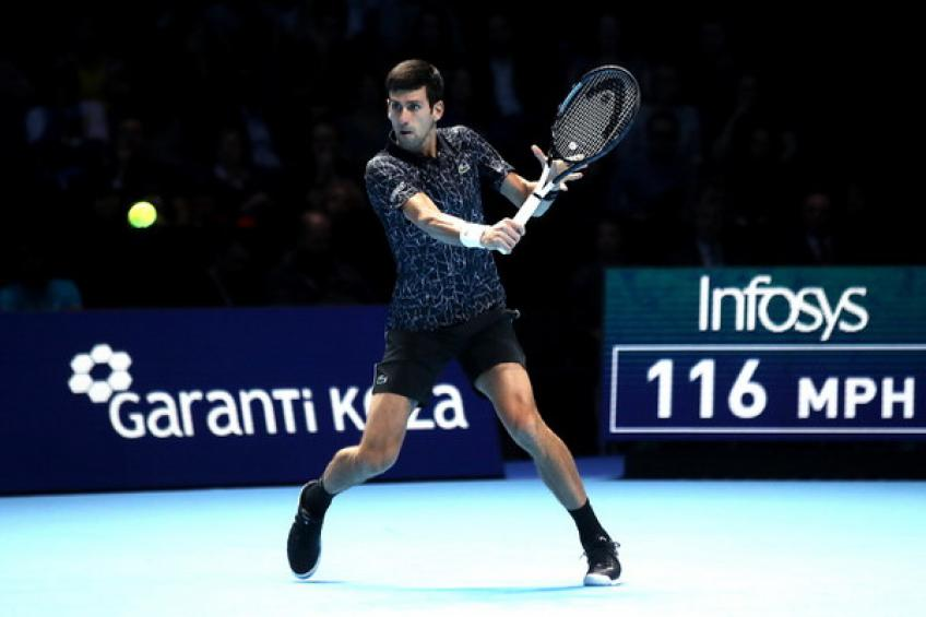 ATP Finals: Novak Djokovic delivers fury from serve to oust Marin Cilic
