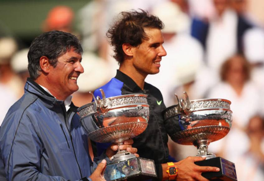 Toni Nadal:'Rafael was never disrespectful with me,otherwise I'd have left'