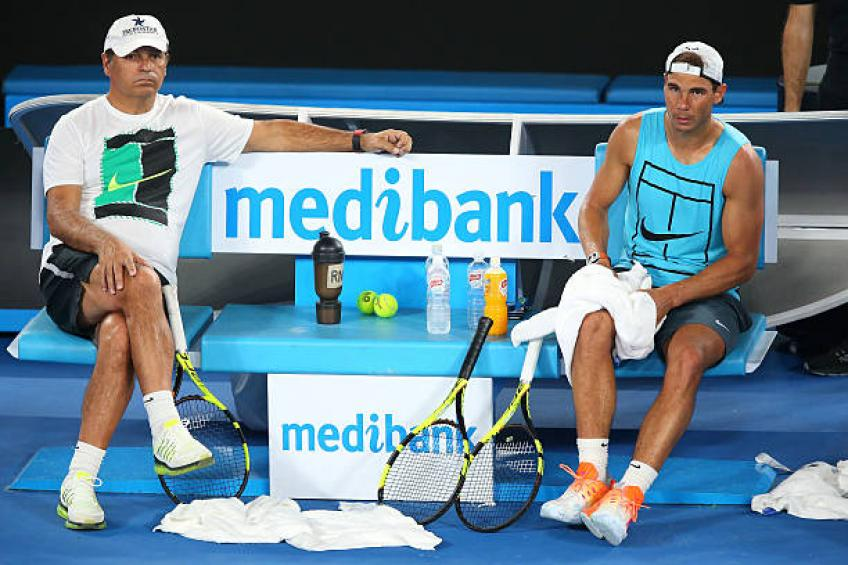 Rafael Nadal did not need my advice anymore, says Uncle Toni