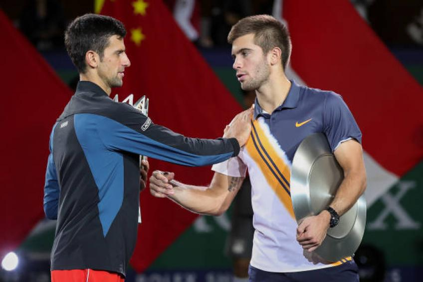 Novak Djokovic and Coric are similar, says Borna's coach