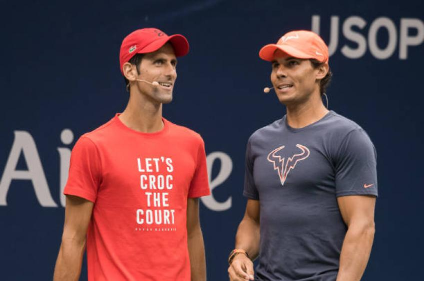 Pique: 'Nadal is in favour of new Davis Cup format'. While Djokovic...