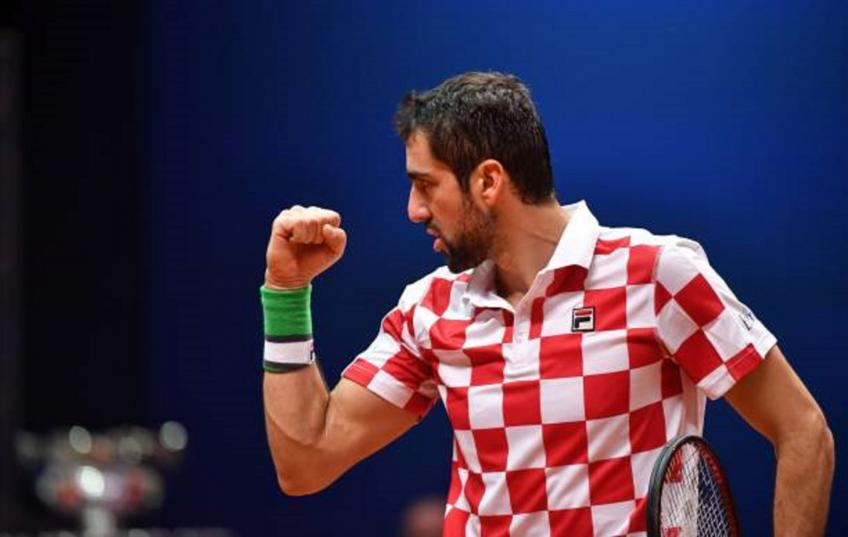 Croatia clinch victory over France to win Davis Cup