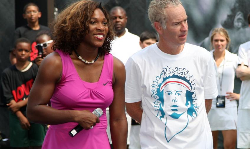 I have done worse: John McEnroe defends Serena Williams
