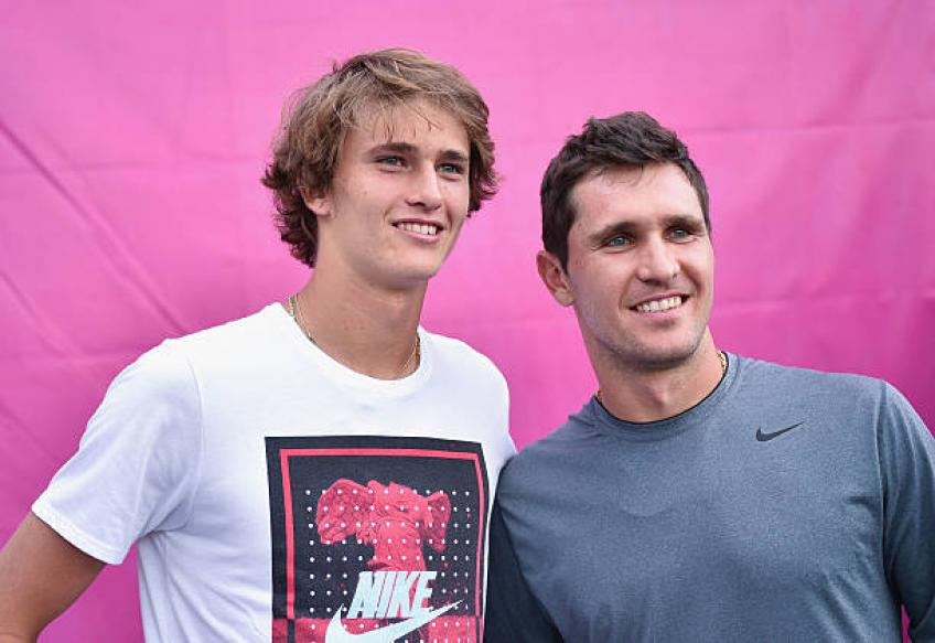Mischa Zverev: 'Me and brother Sascha are constantly in competition'