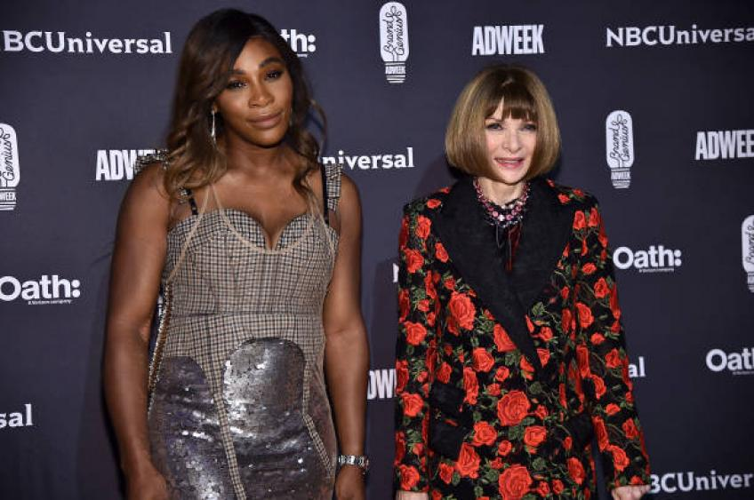 Anna Wintour praises Serena Williams for being great person