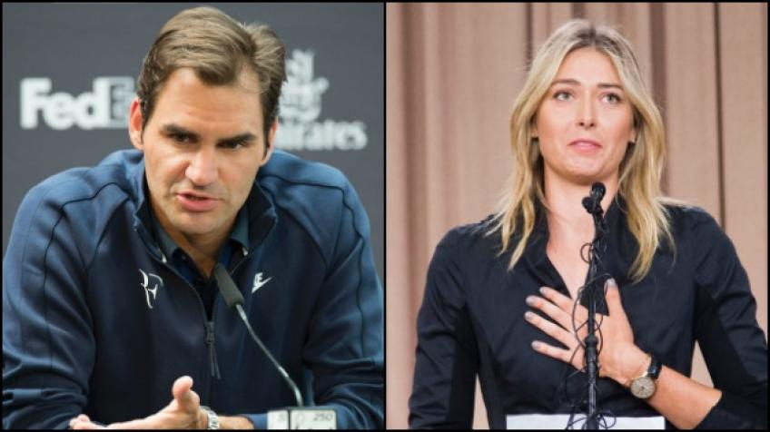 Maria Sharapova explains why she loves Roger Federer
