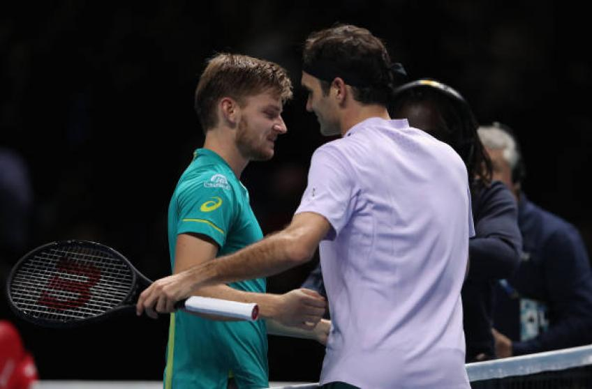 Goffin: 'I will never forget the welcome I got before facing Roger Federer'