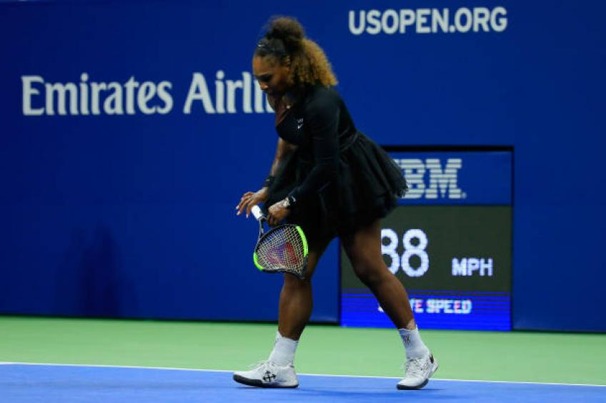 Breaking racket is not the best way to release anger, says Serena Williams