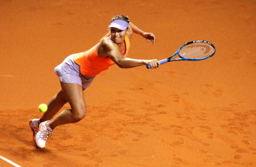 Revealed: the first clay-court tournament of Maria Sharapova in 2019