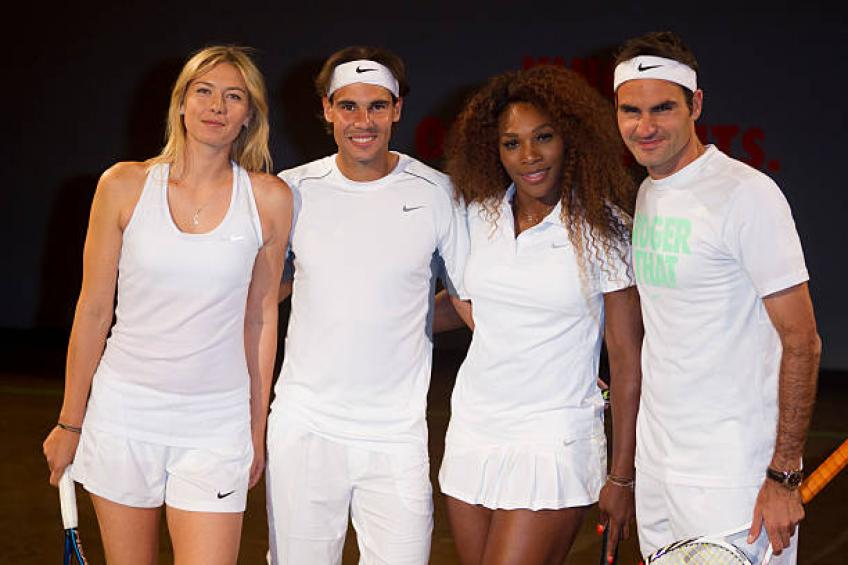 Serena Williams praises Roger Federer for having more Majors than Nadal