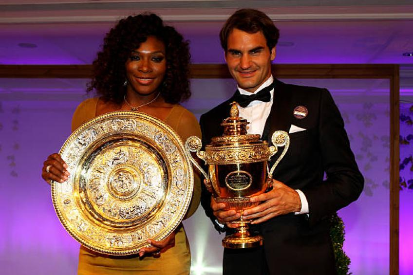 Serena Williams: 'Roger Federer and I just love the sport'