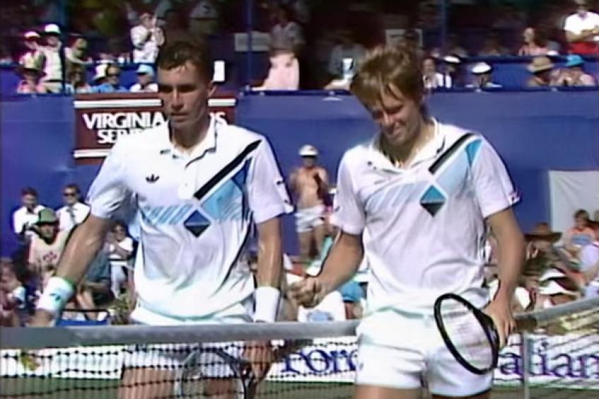 December 7, 1985: Stefan Edberg edges Ivan Lendl in a thriller at Kooyong