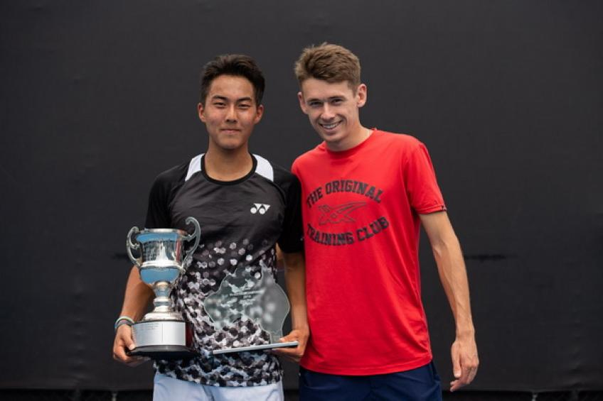 Alex de Minaur: 'It's great to be back here and watch juniors competing'