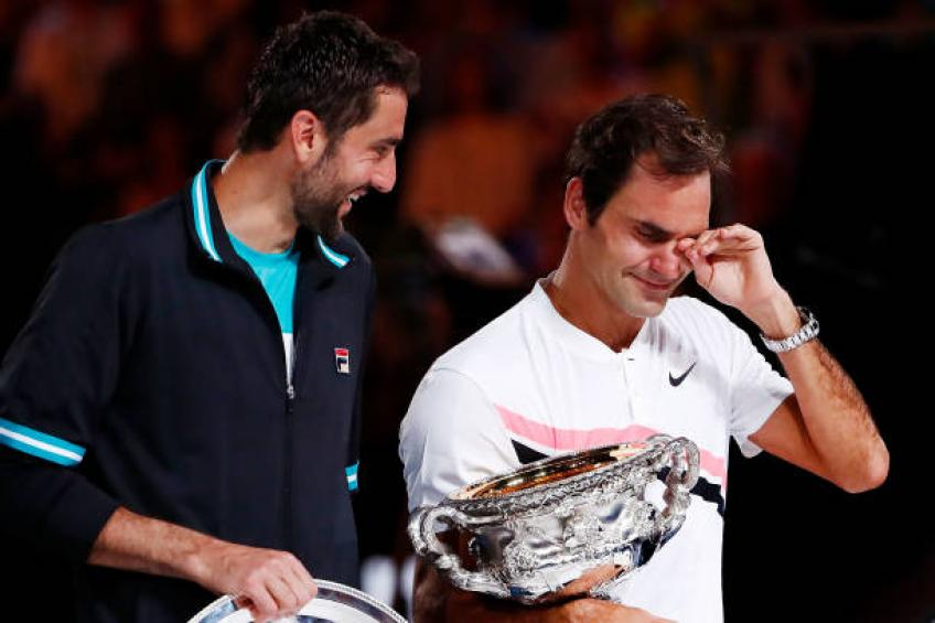 Former Roger Federer's coach praises Marin Cilic:'No one wants to face him'