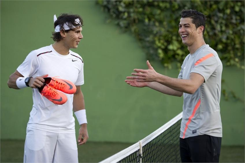 'Rafael Nadal is always respectful, while Ronaldo...' - Former player