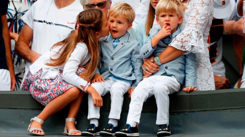 Roger Federer's four children are interested in the Foundation, says CEO