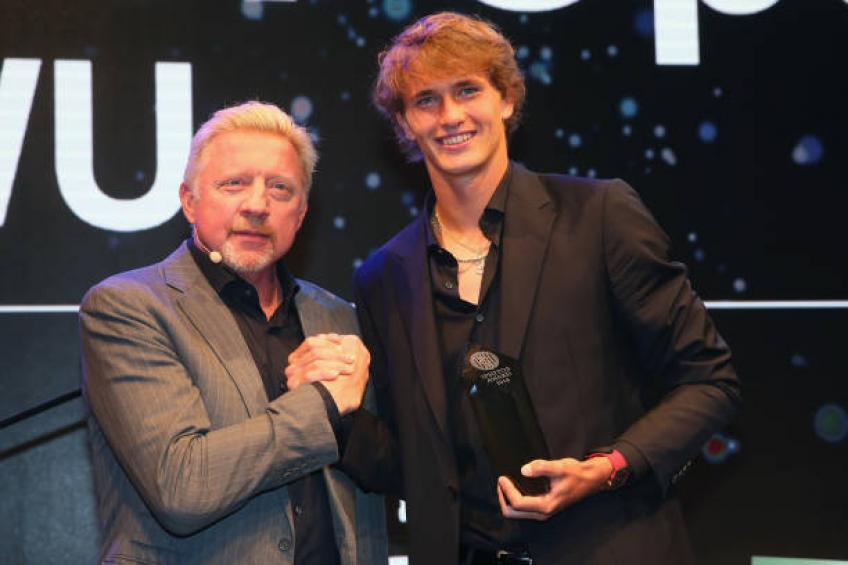 Boris Becker: Zverev played at world class level against Federer, Djokovic