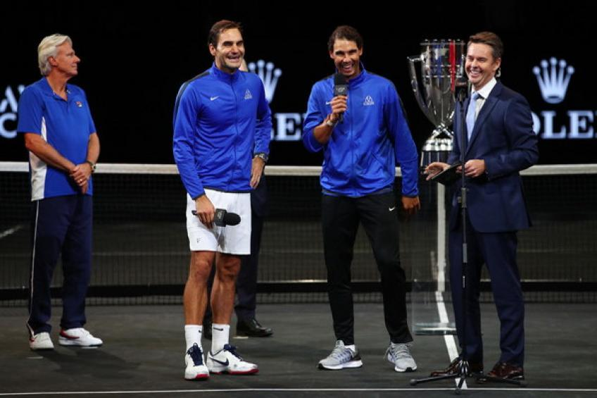 Roger Federer And Rafael Nadal To Team Up At 2019 Laver Cup
