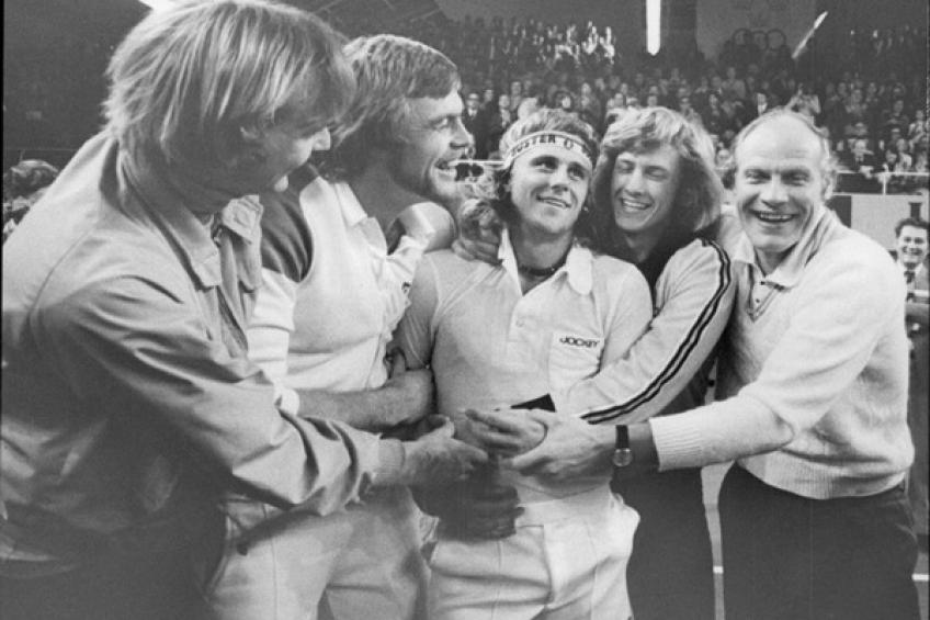 December 21, 1975: Bjorn Borg delivers first Davis Cup title for Sweden