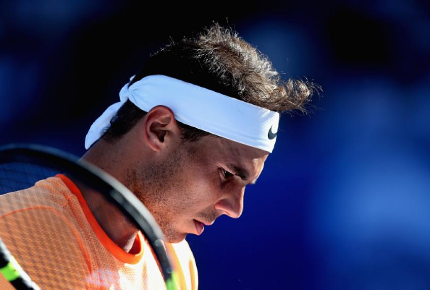 Rafael Nadal withdraws from Brisbane International with thigh injury