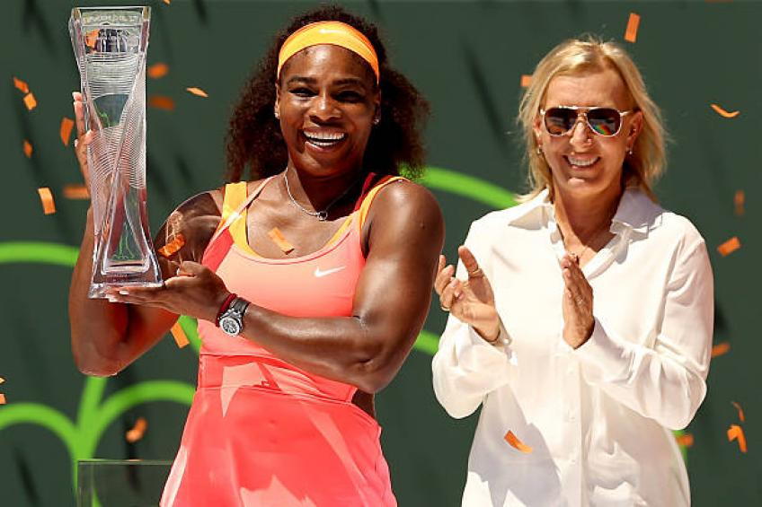 Serena Williams: 'Navratilova, King made our sport what it is today'