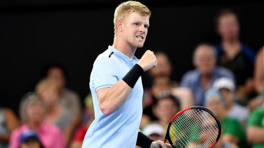 Kyle Edmund ready and happy to start new season in Australia