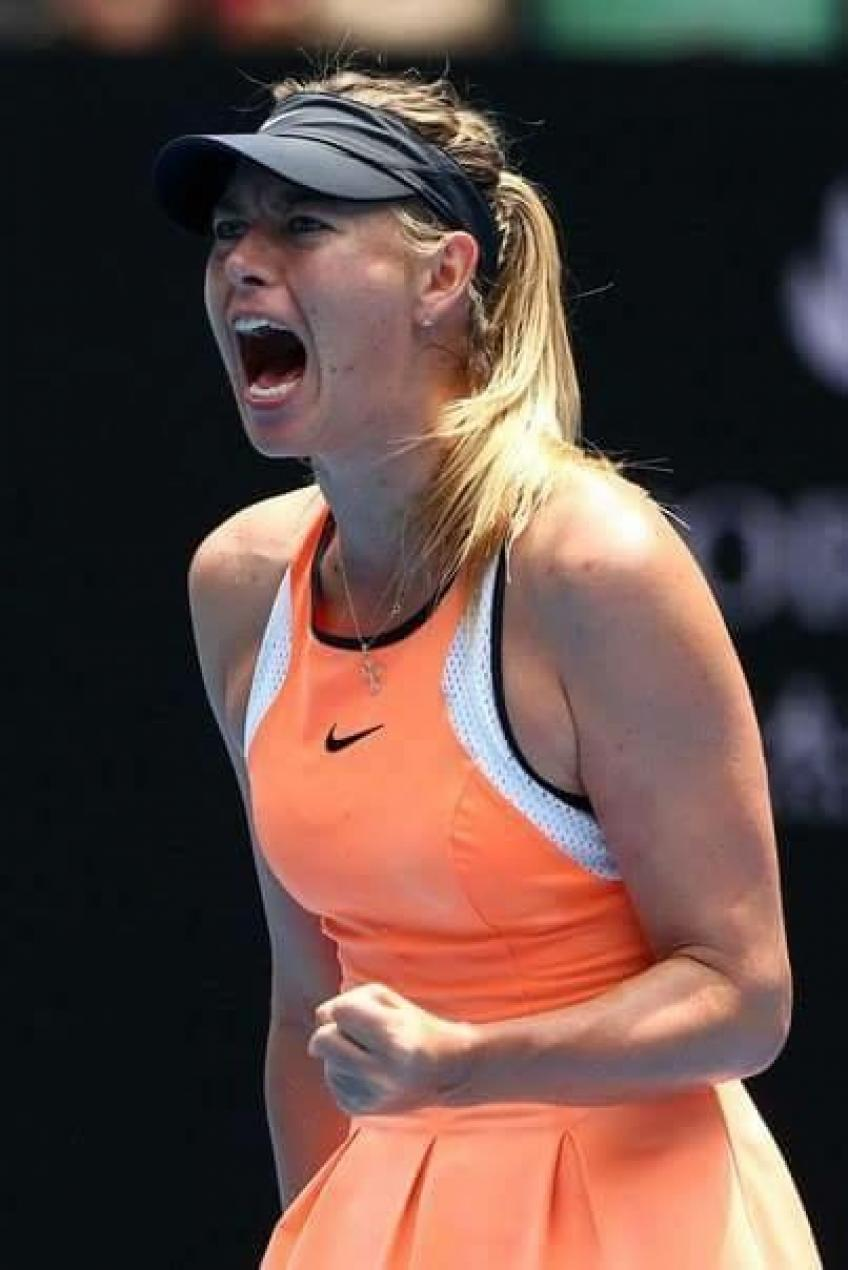 Maria Sharapova sharpens her game on Bacsinszky to win opener at Shenzhen