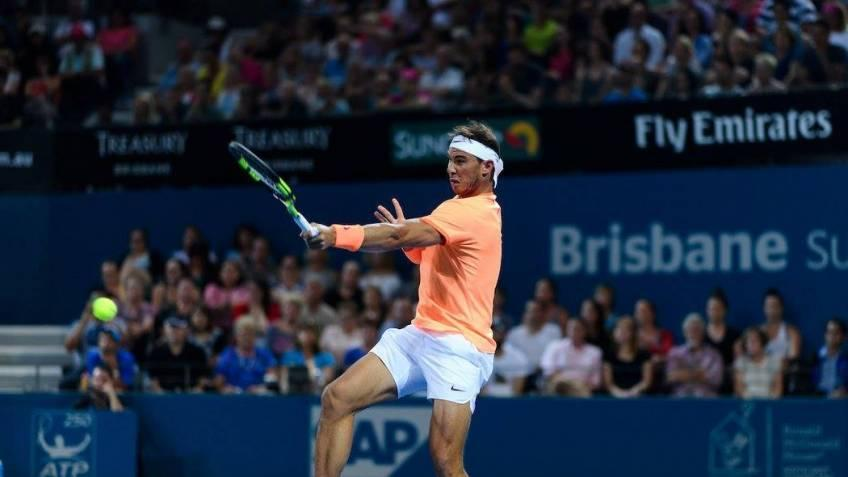 Injured Nadal withdraws from Brisbane