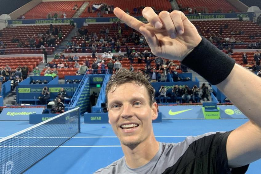 2019 has already rejuvenated Tomas Berdych, but against the Big Four...