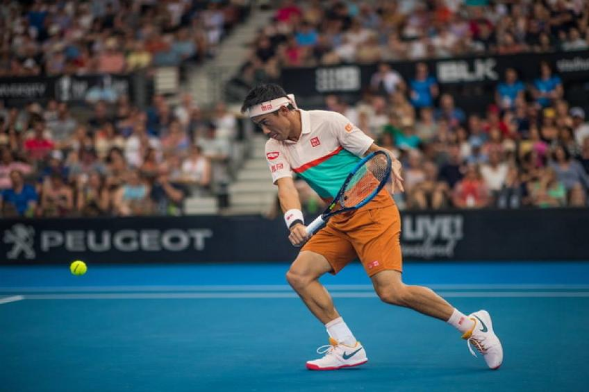 Nishikori's ATP drought ends in Brisbane