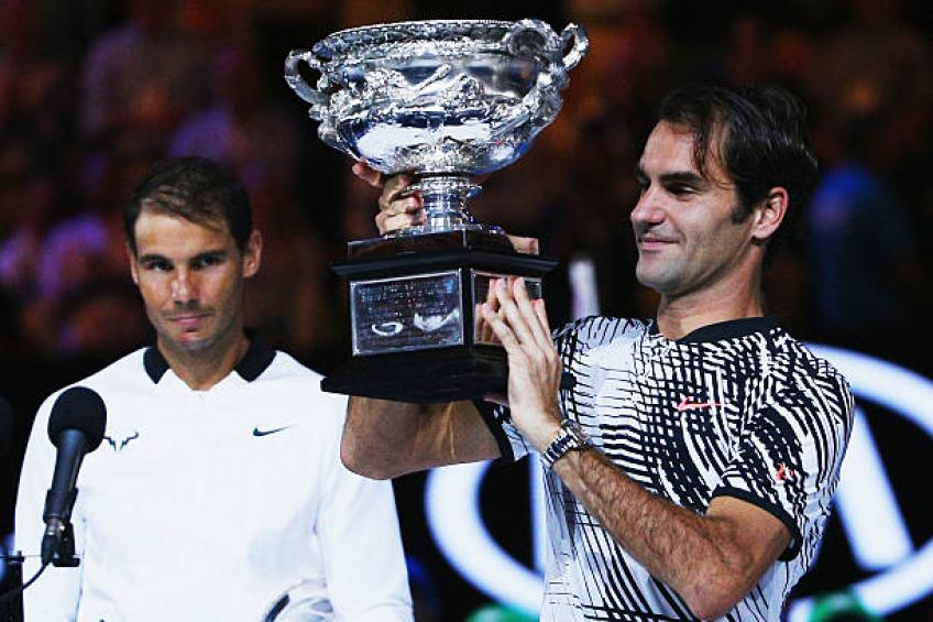 Federer and Nadal on collision course in Oz open draw