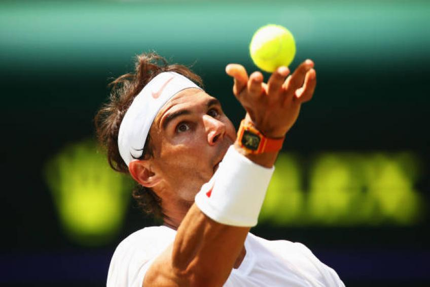 Former Wimbledon junior winner:'People expected me to be like Rafael Nadal'